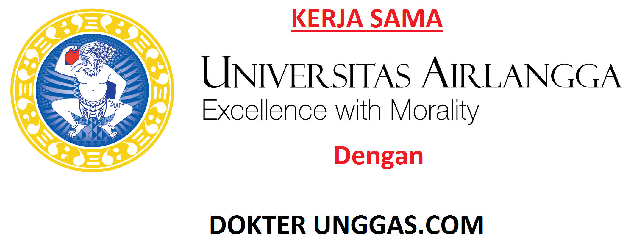 KERJA SAMA DENGAN UNAIR